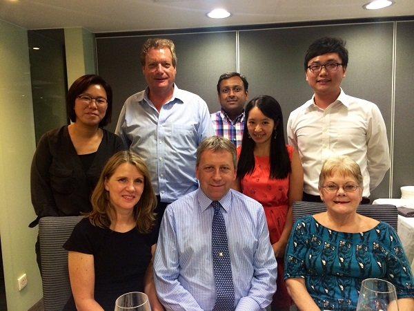 Meeting With President Of The University Of Hong Kong, Prof. Peter Mathieson And His Wife